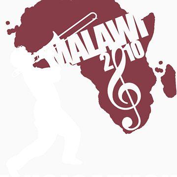MUSICATHON Tshirt Red by MusicForMalawi