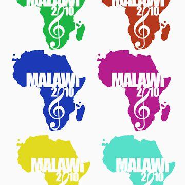 Multi Logo Tshirt by MusicForMalawi