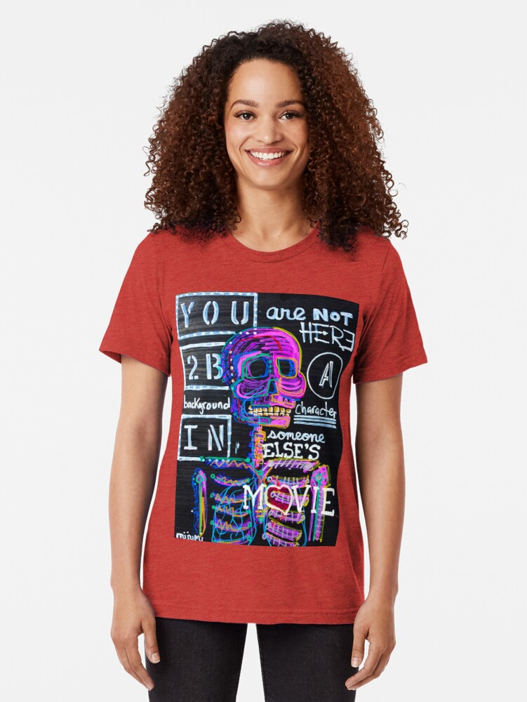 Alternate view of Main Character Tri-blend T-Shirt