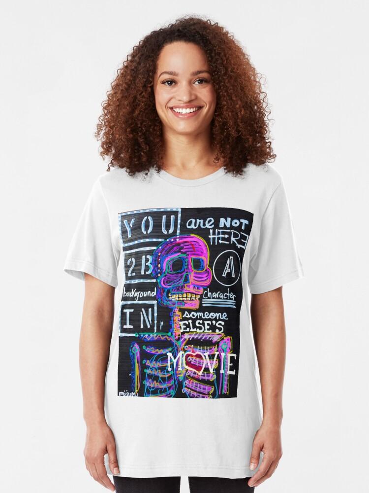 Alternate view of Main Character Slim Fit T-Shirt