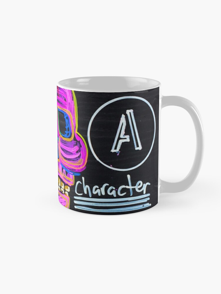Alternate view of Main Character Mug