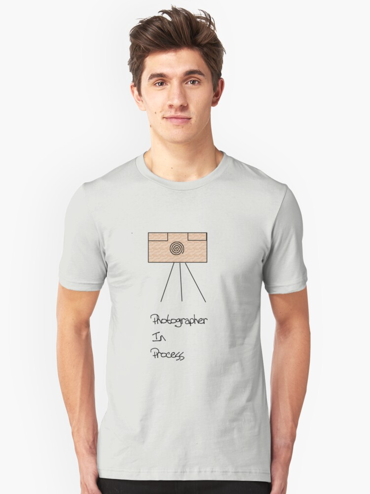 photographer in process Unisex T-Shirt Front