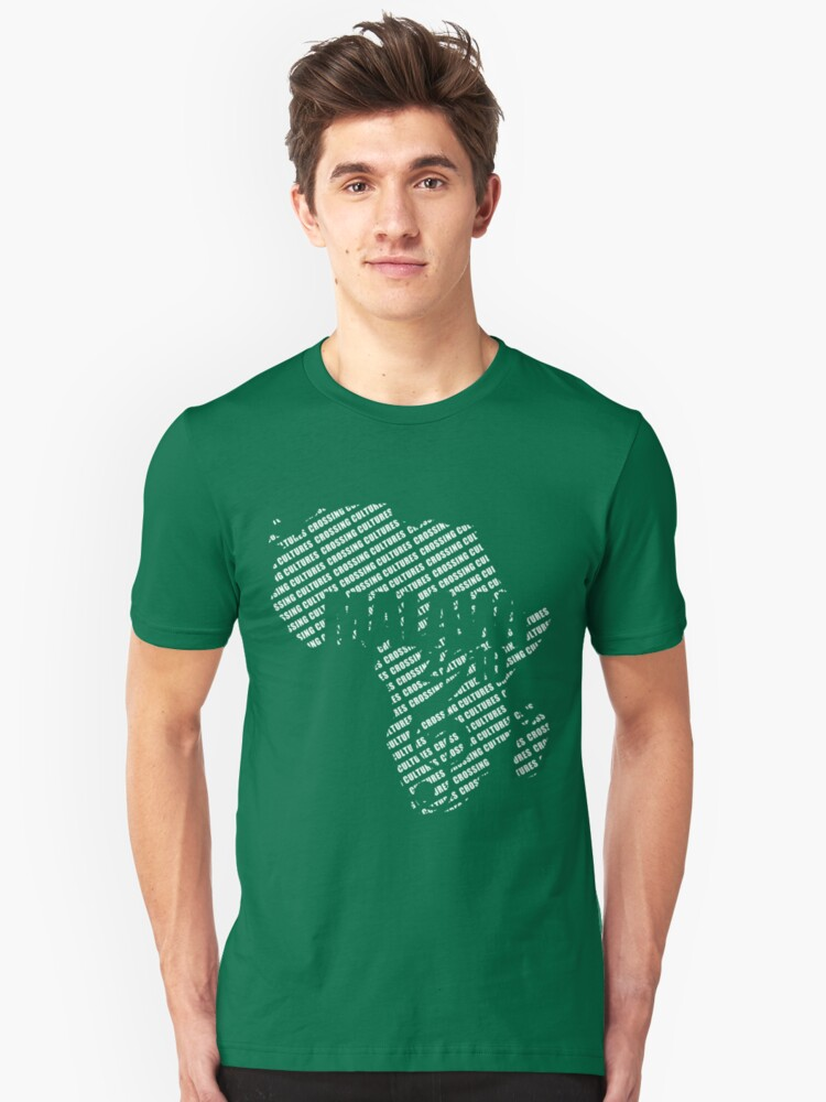 Crossing Cultures Tshirt Unisex T-Shirt Front