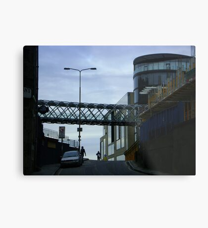 Cityscape, Leith Street from Calton Hill Metal Print