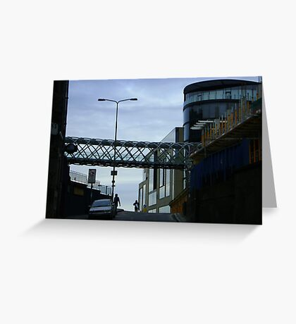 Cityscape, Leith Street from Calton Hill Greeting Card