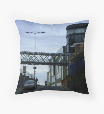Cityscape, Leith Street from Calton Hill Throw Pillow