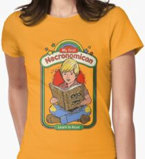 My first Necronomicon Women's Fitted T-Shirt