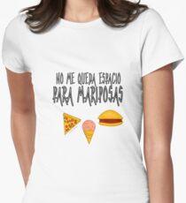 COMIDA ANTES QUE MARIPOSAS Camiseta entallada