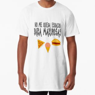 Camiseta larga
