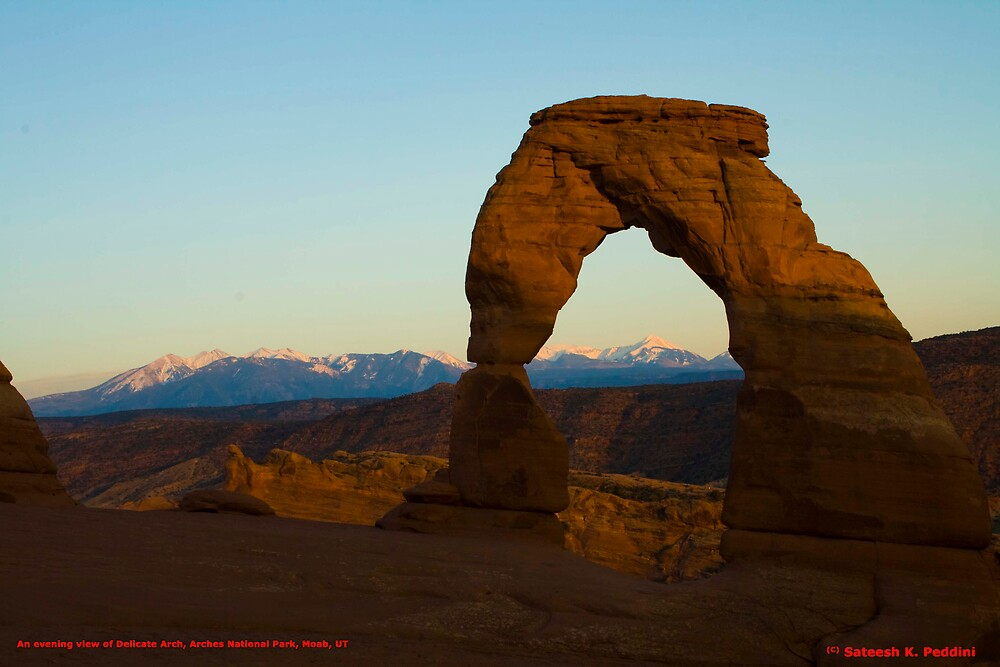 Delicate Arch, Arches National Park, Utah by polymerique