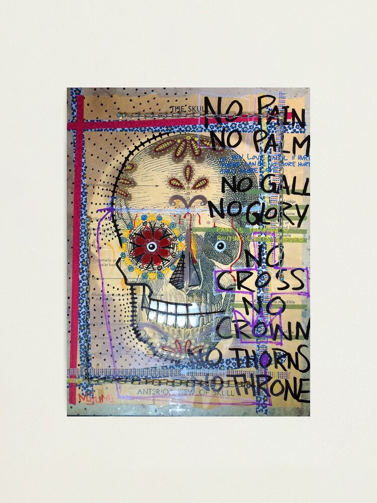 Alternate view of No Thorns No Throne Photographic Print