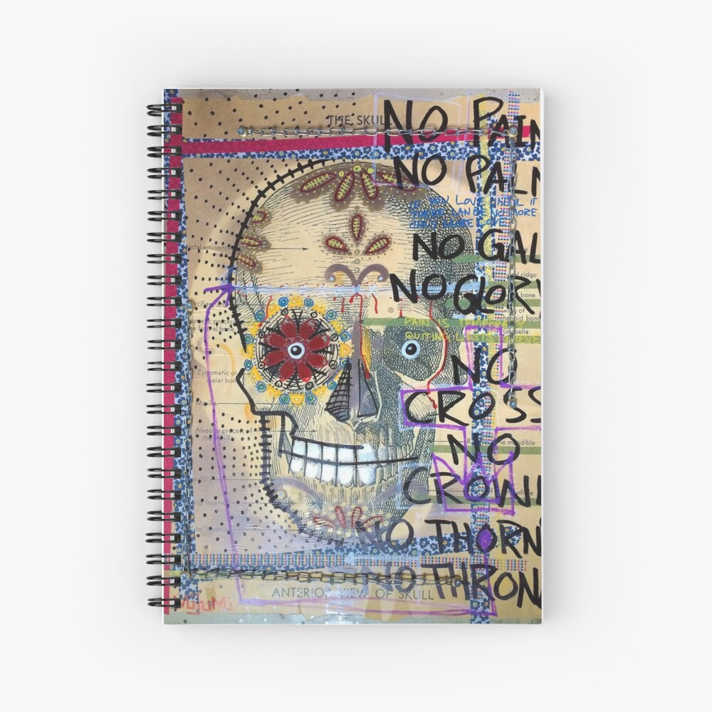 No Thorns No Throne Spiral Notebook