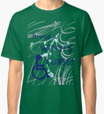 It Was A Witch's Curse: Disability Shirt Classic T-Shirt