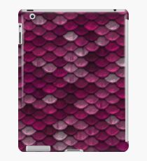 Pink Mermaid Scales iPad Case/Skin