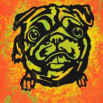 Trippy Pug 1 by Ronin-Ace