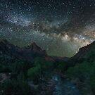 «La Vía Láctea y el Vigilante» de Randy  LeMoine