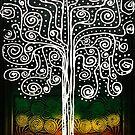 Rasta Tree on Black by mijumi