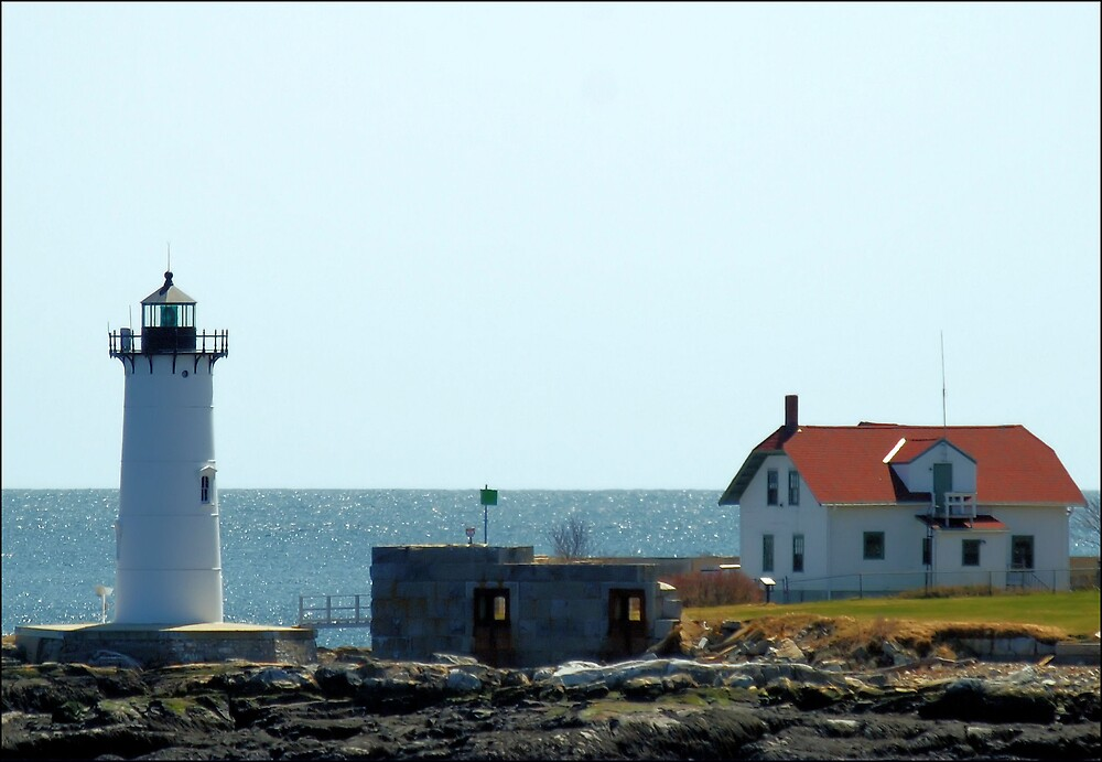 Portsmouth Harbor Light by Donnie Shackleford