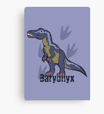 Blue Baryonyx Canvas Print