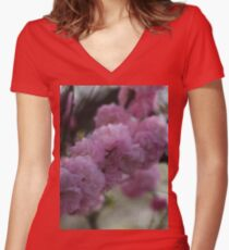 Springtime is here Women's Fitted V-Neck T-Shirt