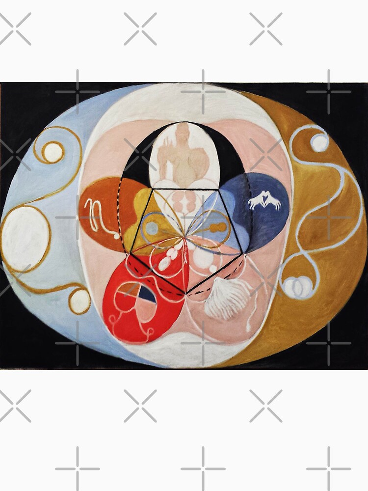 HD Circle, von Hilma af Klint 1907 HOHE DEFINITION von mindthecherry