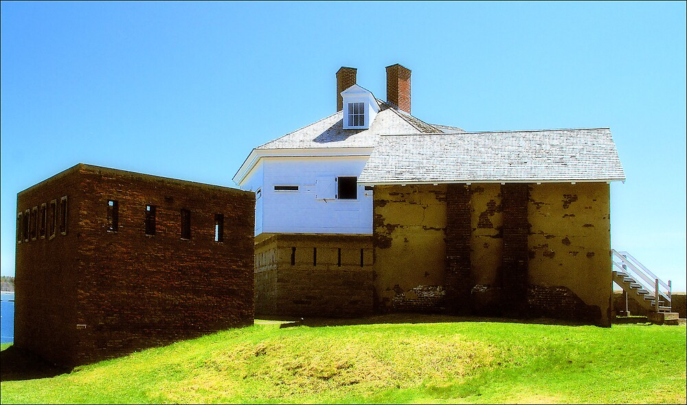 Fort McClary by Donnie Shackleford