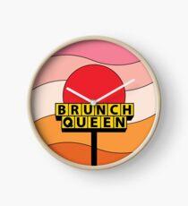 Brunch Queen Clock