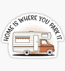 MOTORHOME Sticker