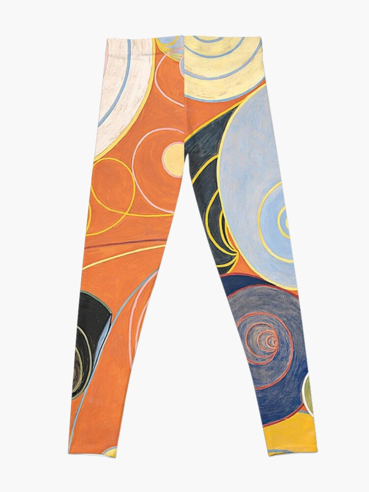 Alternate view of HD Untitled, by Hilma af Klint 1907 HIGH DEFINITION Leggings