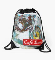 Café Racer Classic Drawstring Bag