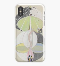 HD Tree of Knowledge No. 5, by Hilma af Klint 1907 HIGH DEFINITION iPhone Case
