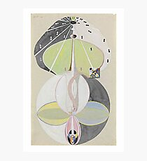 HD Tree of Knowledge No. 5, by Hilma af Klint 1907 HIGH DEFINITION Photographic Print