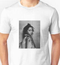 Lauryn Hill portrait (B & W) Unisex T-Shirt
