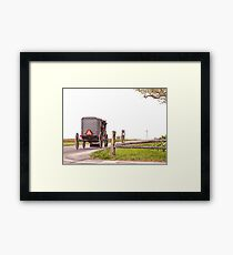 Country Traveler Framed Print