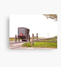 Country Traveler Canvas Print