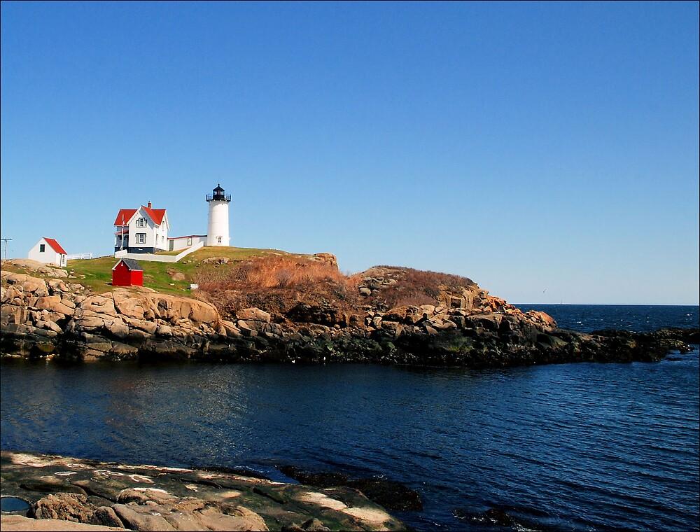 Cape Neddick Lighthouse by Donnie Shackleford