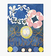 HD Childhood, The Ten Largest, by Hilma Af Klint HIGH DEFINITION Photographic Print