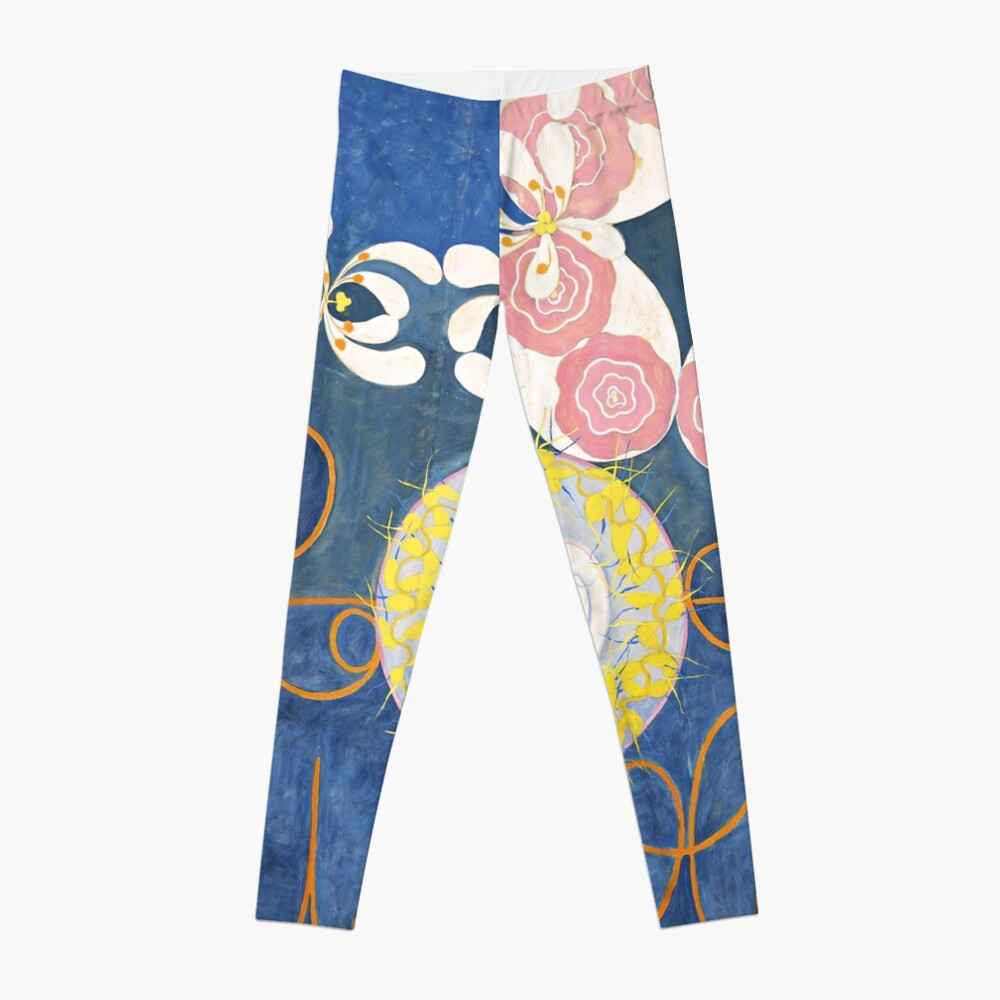 HD Childhood, The Ten Largest, by Hilma Af Klint HIGH DEFINITION Leggings