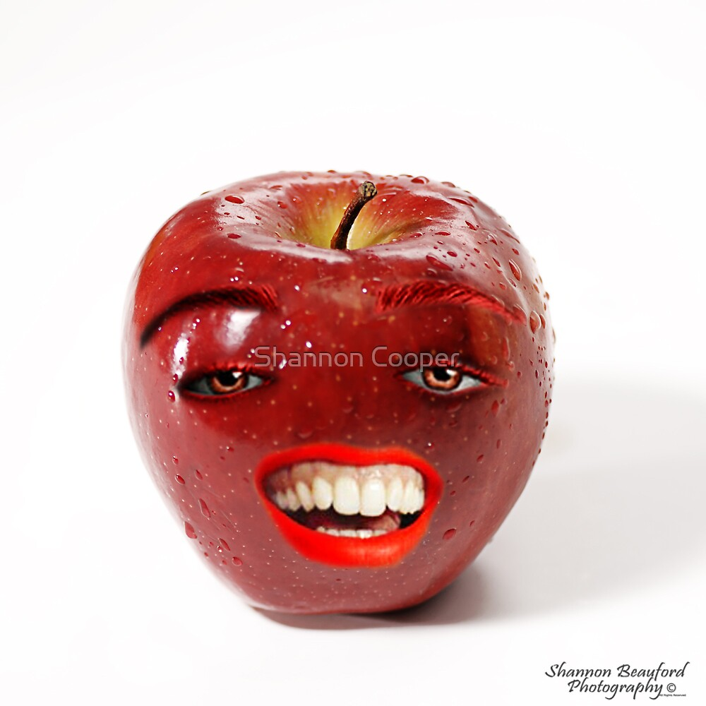 Apple Face by Shannon Beauford