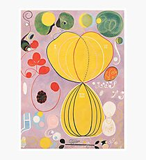 HD Adulthood, Group IV, by Hilma af Klint 1907 HIGH DEFINITION Photographic Print
