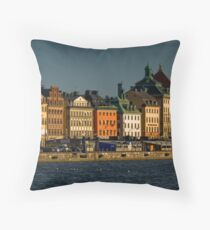 "Stockholm ""Skyline"" Throw Pillow"
