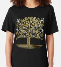 Silver and Gold Slim Fit T-Shirt