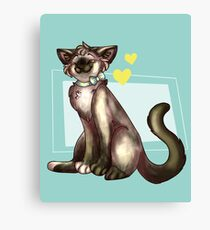 China Cat! Canvas Print