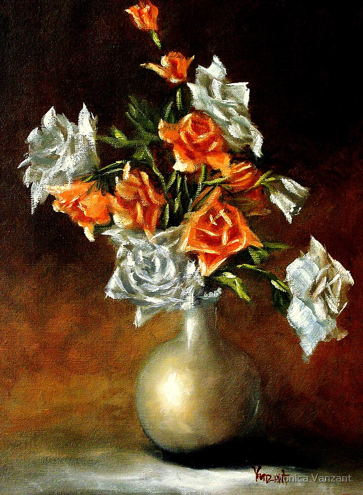 Abundance Of Roses by Monica Vanzant