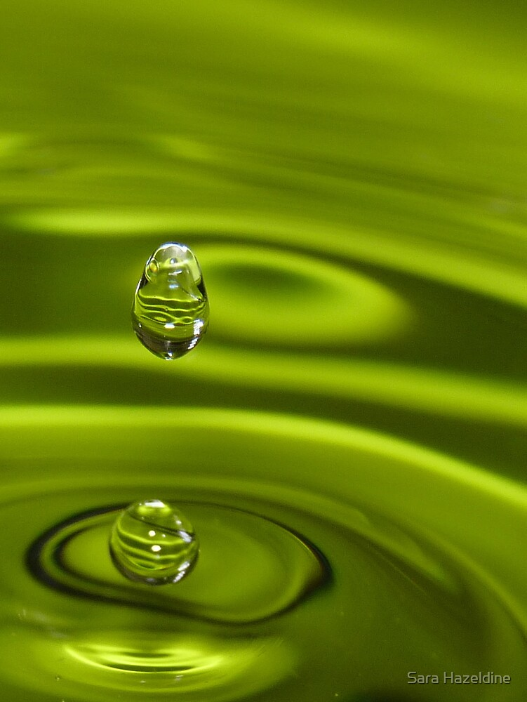 Green splash by Sara Hazeldine