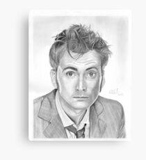 Doctor Who - David Tennant Canvas Print