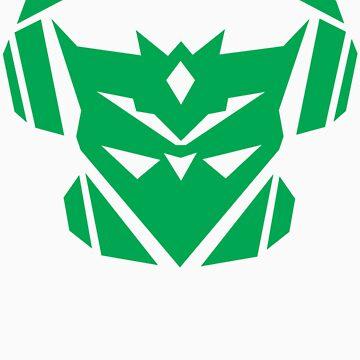 Teknicianz Logo- Green by theteknicianz
