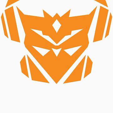 Teknicianz Logo- Orange by theteknicianz