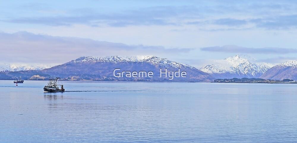 Morning on Kodiak Bay by Graeme  Hyde