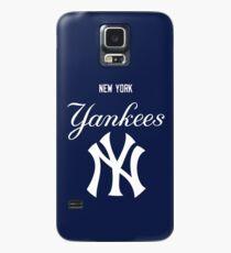 NY blue Case/Skin for Samsung Galaxy
